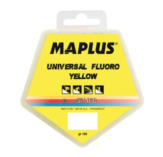 MAPLUS Blockwax Yellow Fluoro