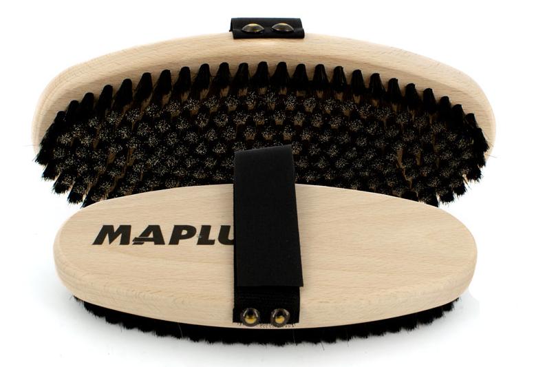 MAPLUS Ovalbürste Stahl weich/ spezial