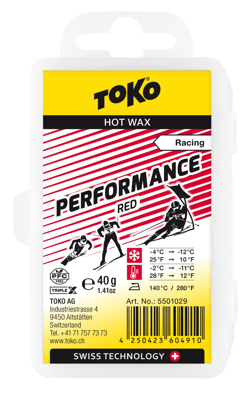 TOKO Performance red 40g