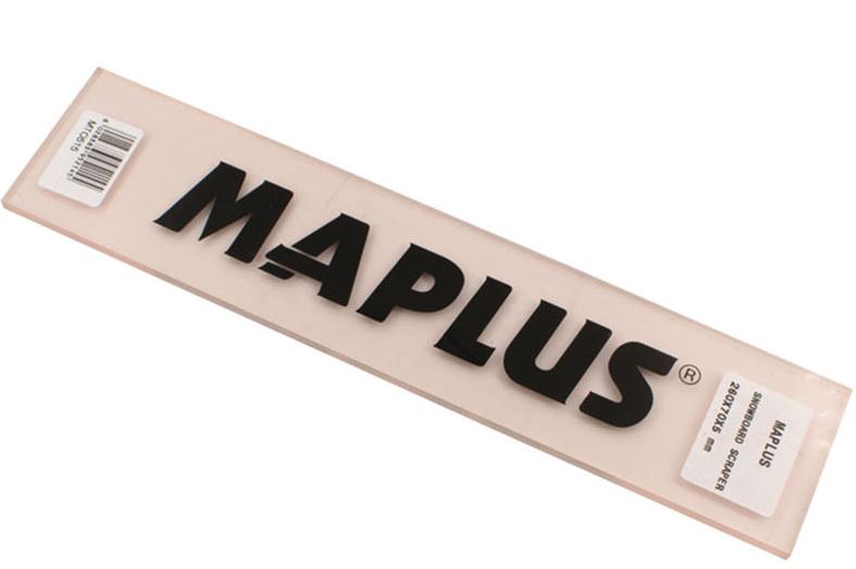 MAPLUS Snowboard plexi scraper