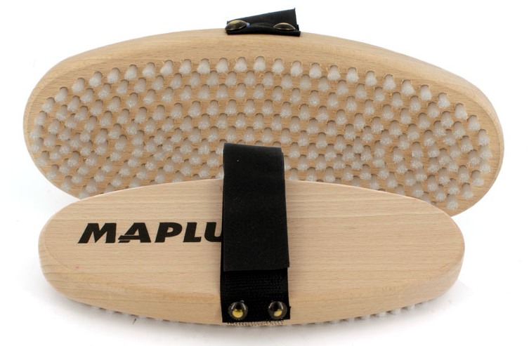 MAPLUS Ovalbürste Nylon weich