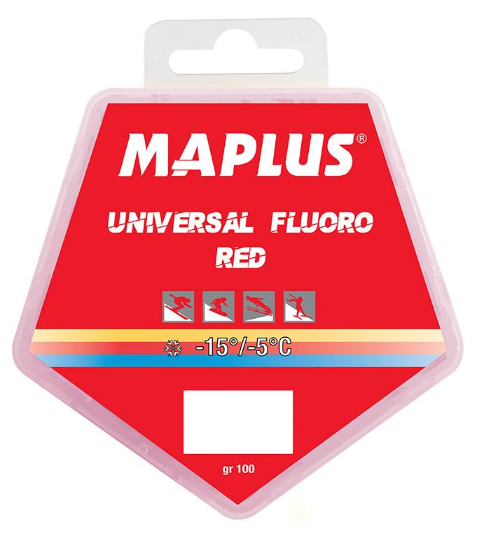 MAPLUS Blockwax Red Fluoro