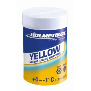HOLMENKOL Grip yellow +4°C/-1°C