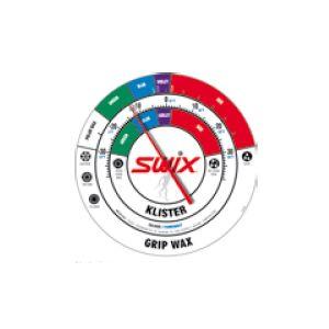 SWIX Rundes Wandthermometer nordisch